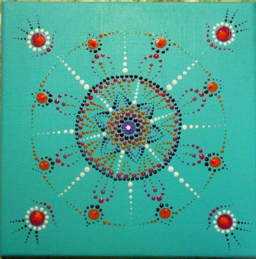 Dot painting basis