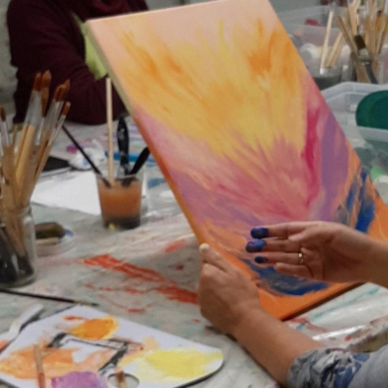 Happy schilderen